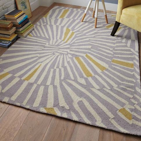 Swirl Rug Contemporary Rugs