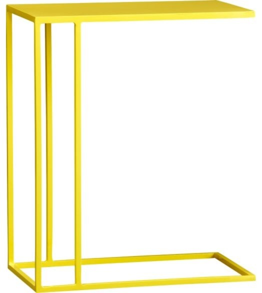 Gear Yellow C Table Contemporary Side Tables And End