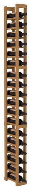 1 Column Standard Wine Cellar Kit in Pine, Oak contemporary-wine-racks
