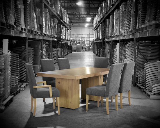 LOFT Collection by Canadel - Rectangular table: TRE 0-4272-20NAR-PS-NF