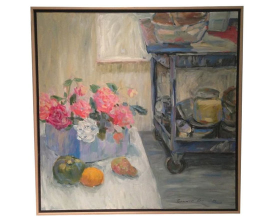 SOLD OUT! Studio Still Life Oil Painting - $400 Est. Retail - $200 on Chairish.c -