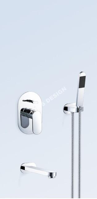 Bath shower combination modern