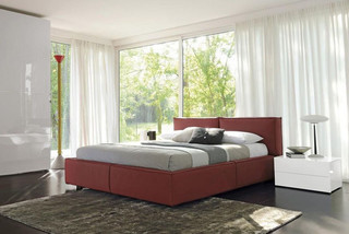 Made In Italy Leather Luxury Bedroom Furniture Sets Contemporary Bedroom