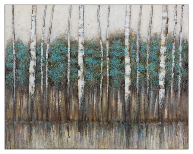 """""""Edge of The Forest"""" Canvas Art rustic-artwork"""