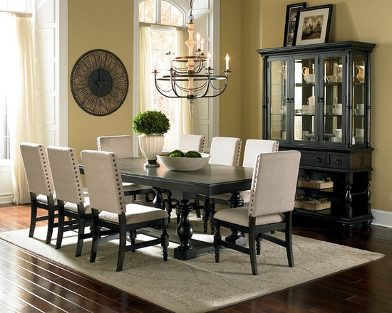 """Steve Silver """"Leona"""" Collection Charcoal 5-Piece Dining -"""