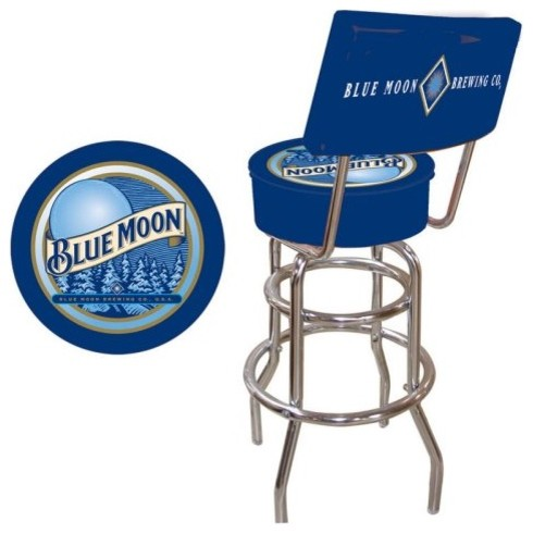 30-Inch Blue Moon Padded Swivel Bar Stool with Back eclectic-bar-stools-and-counter-stools