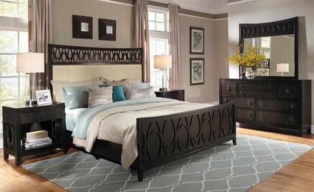 Samuel Lawrence Aura 6 Piece California King Bedroom Set
