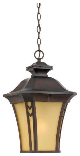 Quoizel Norfolk Extra Large Hanging Lantern - Terra Bronze traditional-outdoor-lighting