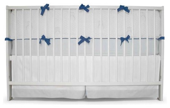 Honeyami Organic Night Owl Crib Set modern-baby-bedding