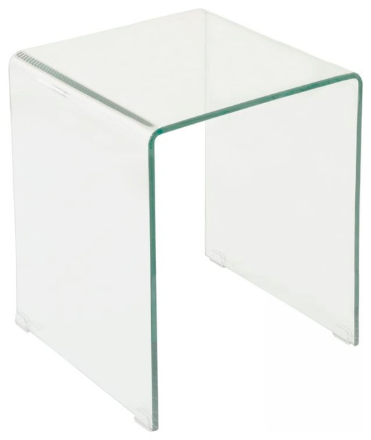 Lenox glass end table for Glass end tables
