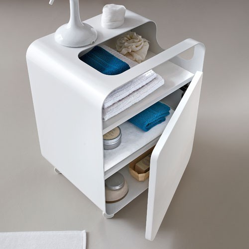 Arblu | Tulip Cart on Wheels - Modern - Bathroom Cabinets ...