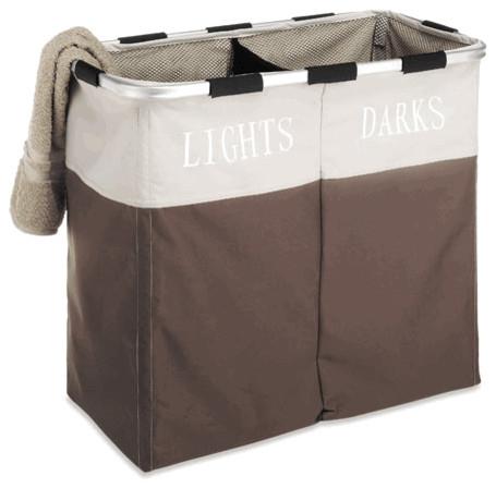 Double Laundry Sorter, Java modern-hampers