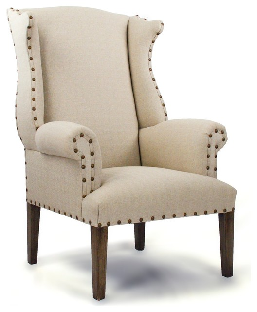 Wing Back Chair traditional-accent-chairs