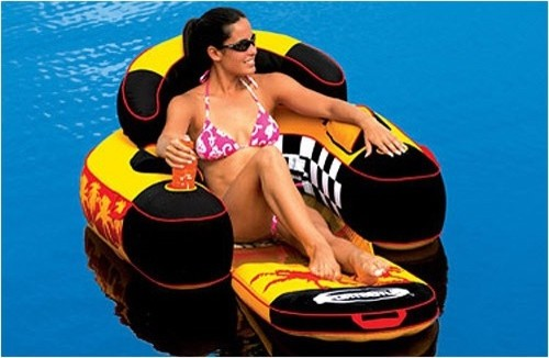 Siesta Lounge Raft modern outdoor chaise lounges