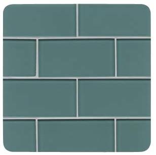Denim Subway Backsplash Tile contemporary-tile