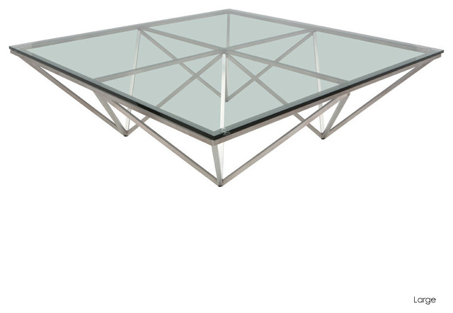 Origami Square Coffee Table Large Modern Coffee Tables By Inmod