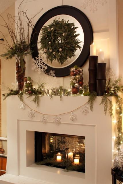 Christmas Mantle 2010