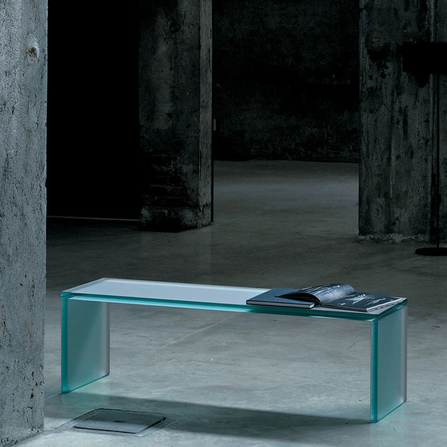 triennale glass bench modern bedroom benches by switch modern
