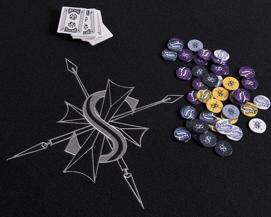 Custom Poker Table & Poker Chips - Photography by Dan Piassick