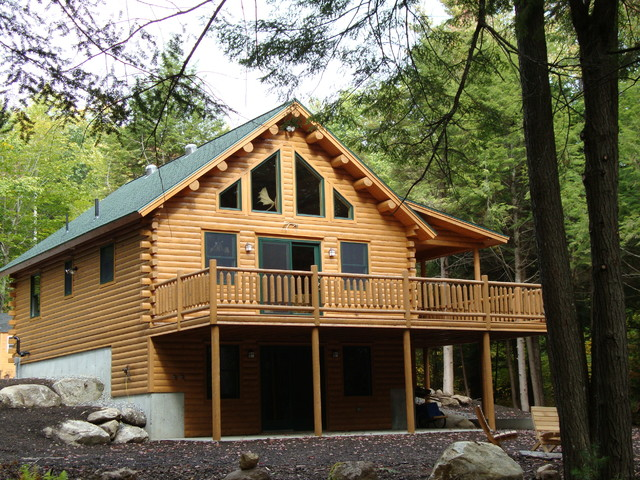 Big Twig Homes Llc Small Katahdin Cedar Log Home Rustic