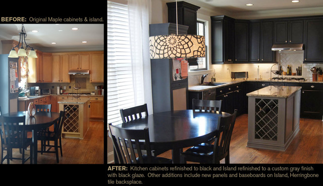 CCFF Before & Afters modern kitchen