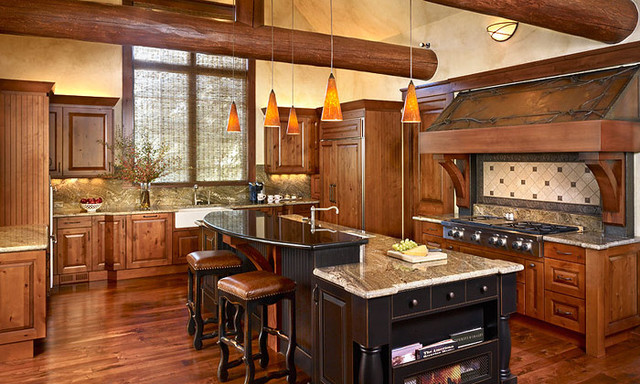 Eldorado Springs Ranch traditional-kitchen
