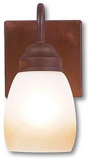 Rustic Wasatch Single Sconce eclectic-wall-lighting