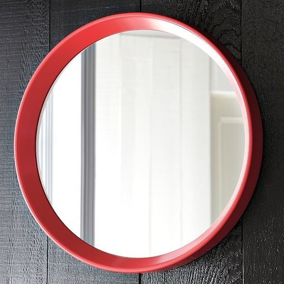 Round Mirror Modern Wall Mirrors By West Elm