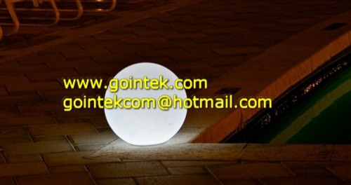 LED Ball Light With Remote Control modern-outdoor-decor