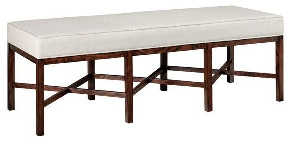 Lombard Long Bench eclectic-benches