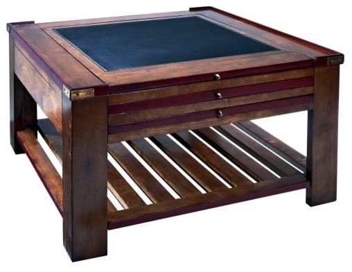 Authentic Models Game Table Coffee Table Red Traditional Coffee Tables By Hayneedle