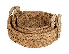 Europe2You The European Home Rush Bread Basket contemporary-baskets