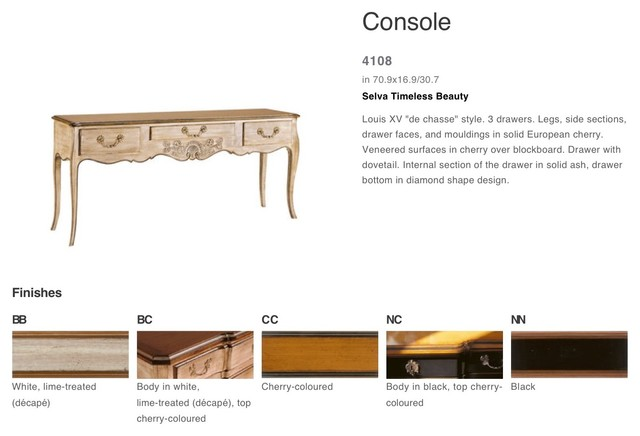 SELVA traditional-side-tables-and-end-tables
