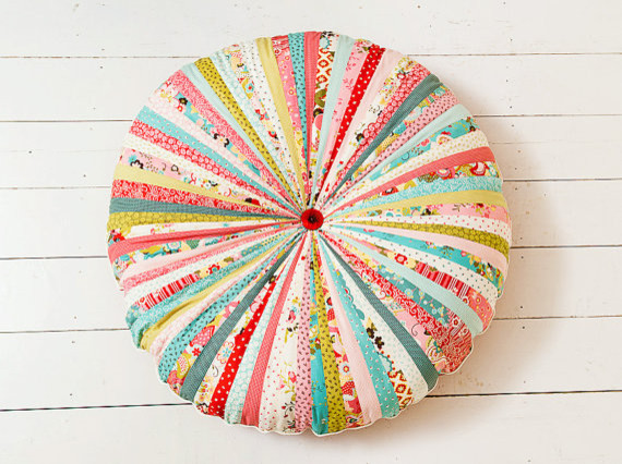 Large Whimsical Floor Cushion By Big Bird S Boutique