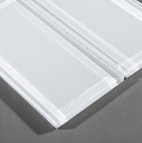 Crystal glass tile chip size 3 tile