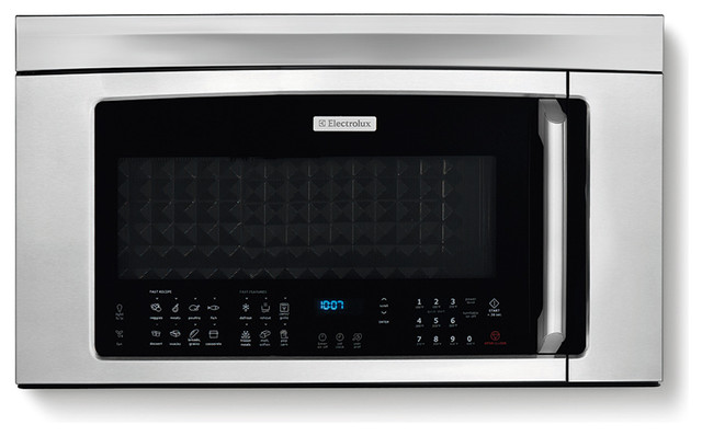 """30"""" Over-the-Range Convection Microwave Oven with Bottom Controls - Contemporary - Microwave ..."""