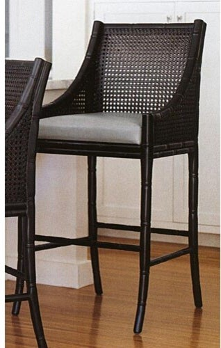 Palecek China Bay Bar Stool traditional bar stools and counter stools