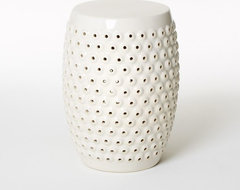 Bubble Ceramic Side Table contemporary-side-tables-and-end-tables