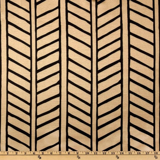 Trolley Stripe, Noir eclectic-upholstery-fabric