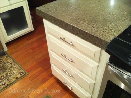 Architectural Concrete Countertop kitchen-countertops
