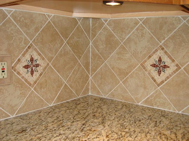 Tile Backsplash traditional-kitchen