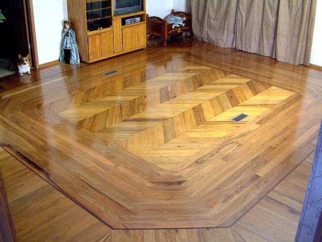 Wood Floor Inlays : Hardwood floor inlays traditional charleston by