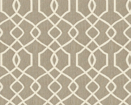 "Ballard Designs - Trellis Taupe Sunbrella Fabric by the Yard - Content: 100% Sunbrella® Acrylic. Repeat: Railroaded fabric, 4.14"" Repeat. Care: Spot clean with mild soap. Width: 54"" wide. Sand and taupe trellis woven in washable, easy-care Sunbrella acrylic.Content: 100% Sunbrella Acrylic. . . . Because fabrics are available in whole-yard increments only, please round your yardage up to the next whole number if your project calls for fractions of a yard. To order fabric for Ballard Customer's-Own-Material (COM) items, please refer to the order instructions provided for each product.Ballard offers free fabric swatches: $5.95 Shipping and Processing, ten swatch maximum. Sorry, cut fabric is non-returnable."