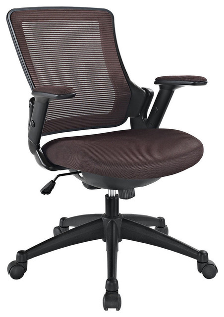 Modway Aspire Office Chair in Brown contemporary-office-chairs
