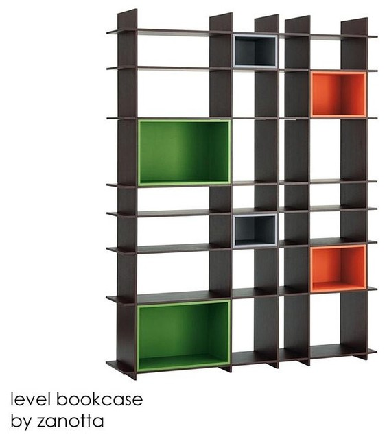 Level Bookcase By Arik Levy For Zanotta contemporary bookcases cabinets and computer armoires