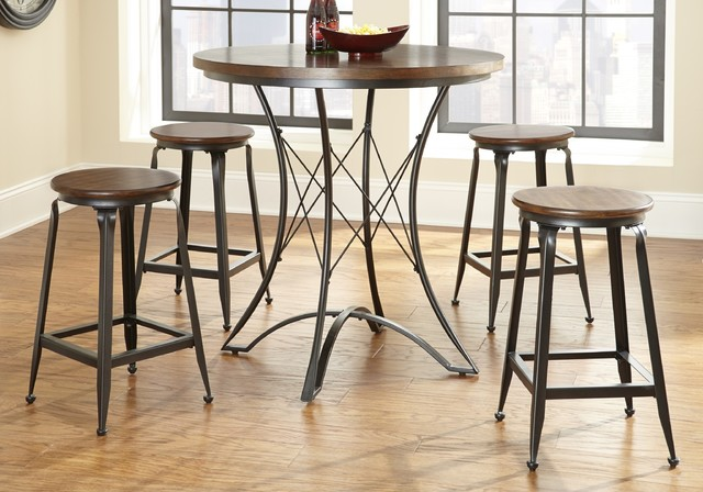 Abella Counter Height Pub Table Set Contemporary