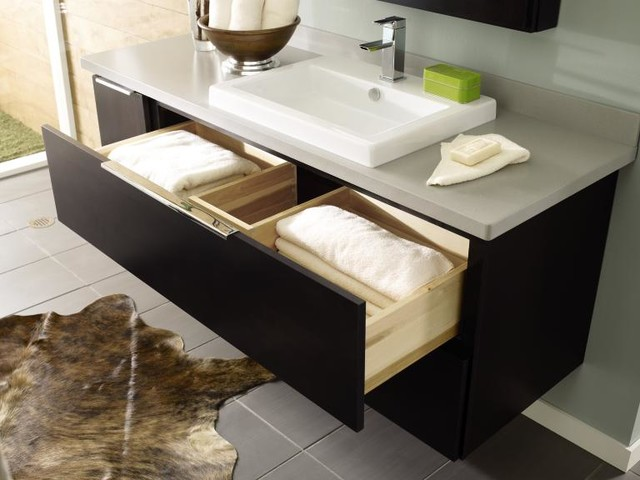Decora U-Shaped Vanity Drawer - Bathroom Cabinets And Shelves - other metro - by MasterBrand ...