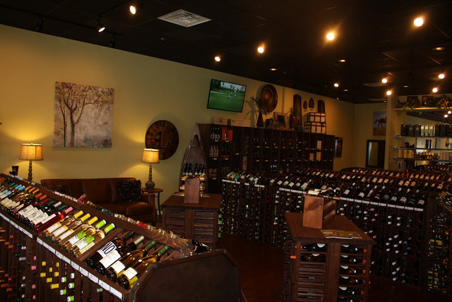 Oxford, MS Wine Shop traditional-wine-cellar