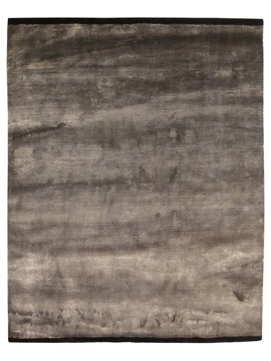 Unique modern rugs - Silver Rug N10380