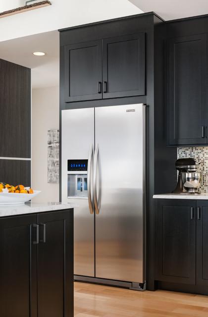 KitchenAid® 23 Cu. Ft. Counter-Depth Side-by-Side Refrigerator, Architect® Serie - Modern ...